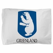 Coat of arms of Greenland Pillow Sham