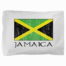 Jamaica Flag Pillow Sham
