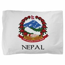 Coat of arms of_Nepal Pillow Sham