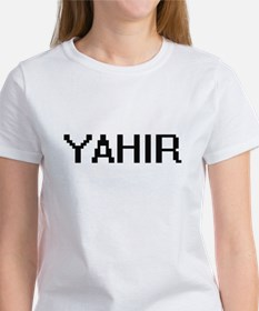 Yahir Digital Name Design T-Shirt