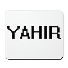 Yahir Digital Name Design Mousepad