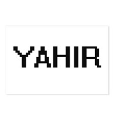 Yahir Digital Name Design Postcards (Package of 8)