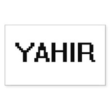 Yahir Digital Name Design Decal