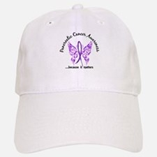 Pancreatic Cancer Butterfly 6.1 Baseball Baseball Cap