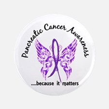 Pancreatic Cancer Butterfly 6.1 Button