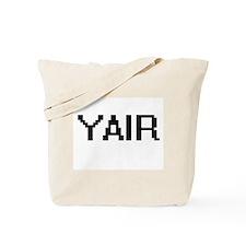 Yair Digital Name Design Tote Bag