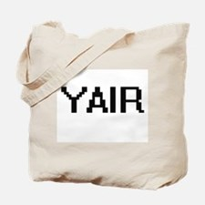Yair Digital Name Design Tote Bag