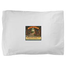 Yosemite Fruit Crate Label Pillow Sham
