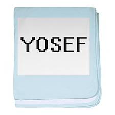 Yosef Digital Name Design baby blanket