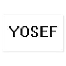 Yosef Digital Name Design Decal