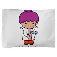 Future Scientist - girl Pillow Sham