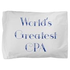 Worlds Greatest CPA Pillow Sham