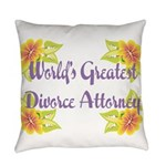 Worlds Greatest Divorce Atto Everyday Pillow