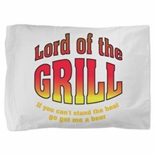 Lord of the Grill Pillow Sham