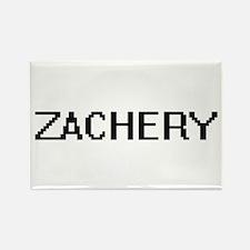 Zachery Digital Name Design Magnets