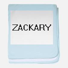Zackary Digital Name Design baby blanket