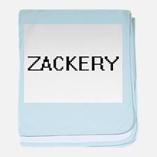Zackery Digital Name Design baby blanket