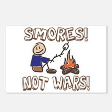 S'mores Not Wars! SMORES Postcards (Package of 8)