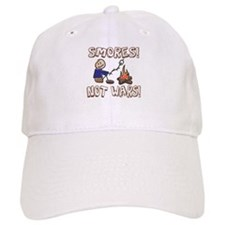S'mores Not Wars! SMORES Baseball Cap