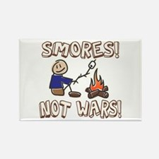 S'mores Not Wars! SMORES Rectangle Magnet