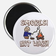"S'mores Not Wars! SMORES 2.25"" Magnet (10 pack)"