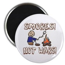 S'mores Not Wars! SMORES Magnet