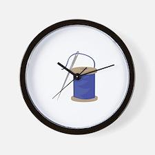 Sewing Thread Wall Clock
