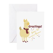 Mama Llama Greeting Cards