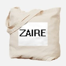 Zaire Digital Name Design Tote Bag