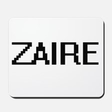 Zaire Digital Name Design Mousepad