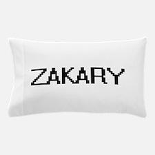 Zakary Digital Name Design Pillow Case