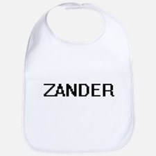 Zander Digital Name Design Bib