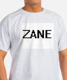 Zane Digital Name Design T-Shirt