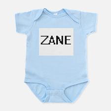 Zane Digital Name Design Body Suit