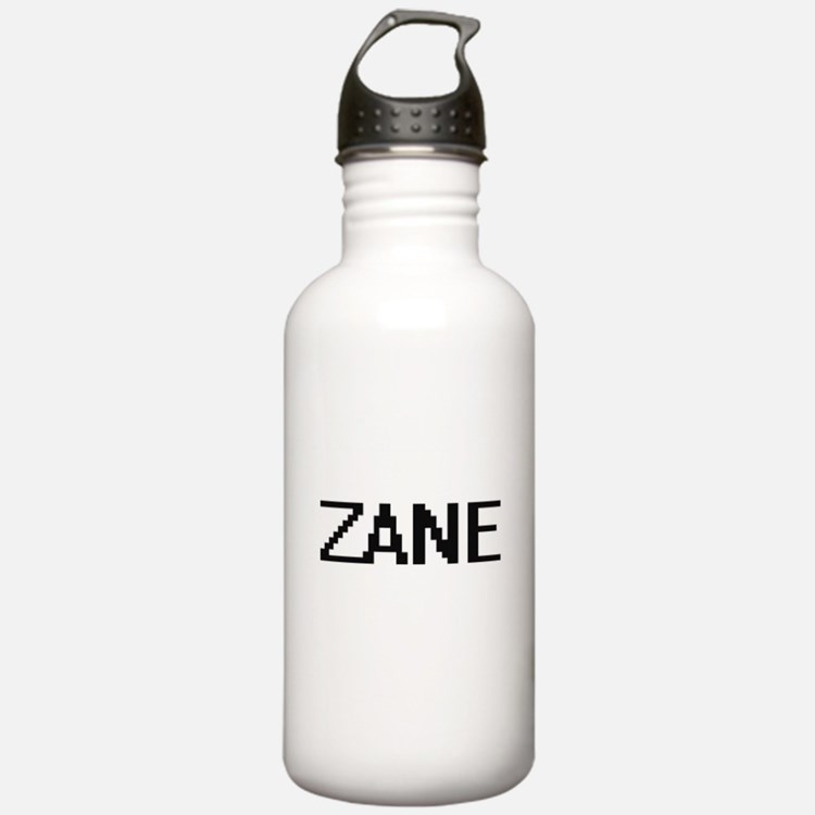 Zane Digital Name Desi Sports Water Bottle