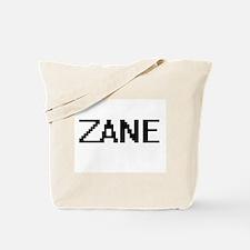 Zane Digital Name Design Tote Bag