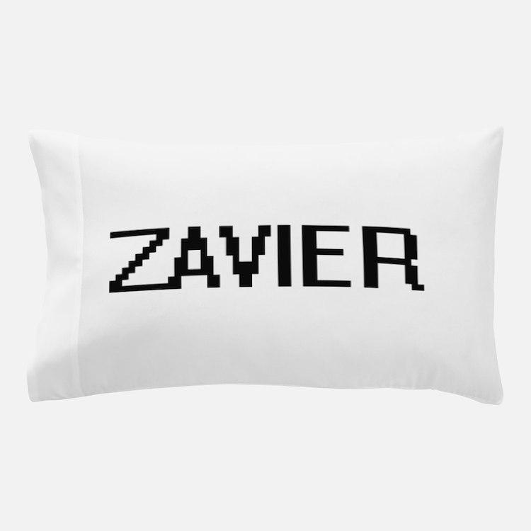Zavier Digital Name Design Pillow Case