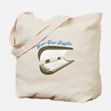 Wear Your Goggles Tote Bag