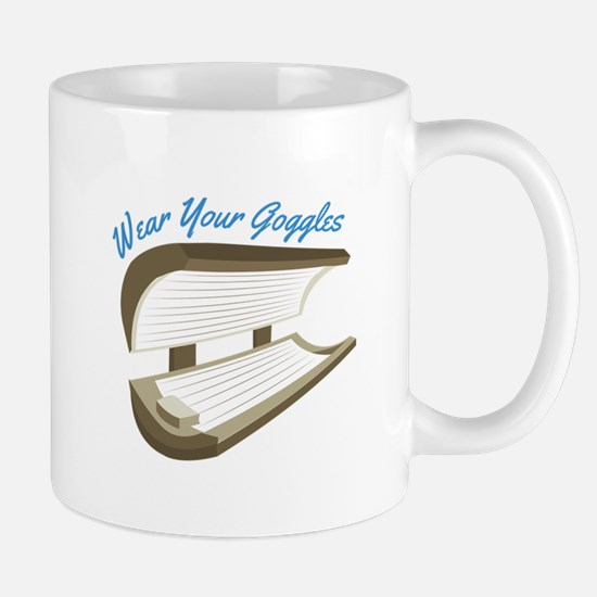 Wear Your Goggles Mugs