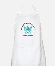 Ovarian Cancer Butterfly 6.1 Apron
