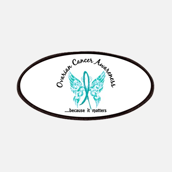 Ovarian Cancer Butterfly 6.1 Patch