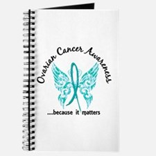 Ovarian Cancer Butterfly 6.1 Journal