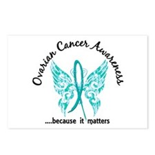 Ovarian Cancer Butterfly Postcards (Package of 8)