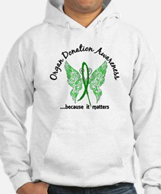 Organ Donation Butterfly 6.1 Hoodie