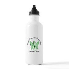 Organ Donation Butterf Water Bottle