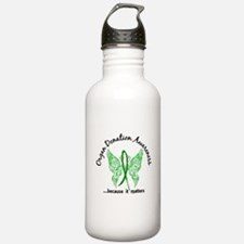 Organ Donation Butterf Water Bottle