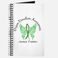 Organ Donation Butterfly 6.1 Journal