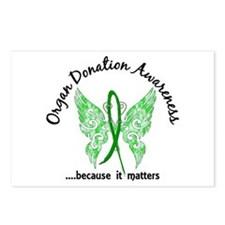 Organ Donation Butterfly Postcards (Package of 8)