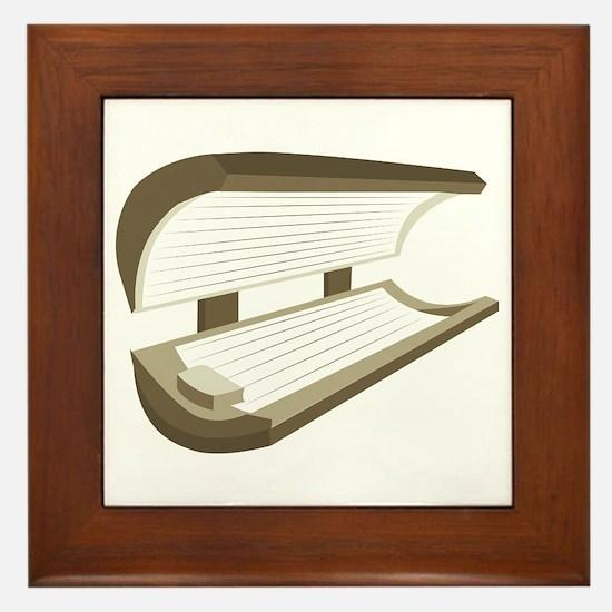 Tanning Bed Framed Tile