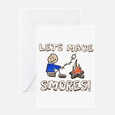 Lets Make SMORES! Greeting Card